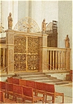 Click here to enlarge image and see more about item p2401: Arhus Domkirke Altar Denmark Postcard