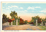 Gateway to City Park, Pueblo, Colorado
