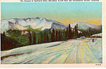 Click here to enlarge image and see more about item p24101: Summit of Berthoud Pass,Colorado