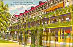 Click here to enlarge image and see more about item p24136: Pontalba Apartment Building Jackson Square New Orleans LA p24136