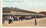 Click here to enlarge image and see more about item p24143: French Market New Orleans LA p24143