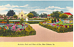 Click here to enlarge image and see more about item p24148: Audubon Park and Zoo New Orleans LA p24148