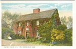 Springfield MA Old Day House Postcard