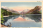 Lake McDonald Glacier National Park MT p24176