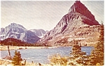 Click here to enlarge image and see more about item p2421: Glacier National Park MT Postcard p2421