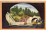 Click here to enlarge image and see more about item p24258: Figueroa Street Tunnels Los Angeles CA    p24258