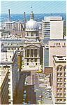 Click here to enlarge image and see more about item p2428: Indianapolis IN Market Street Postcard p2428
