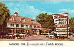 Willows Motel Lancaster Pennsylvania p24323 Cars 50s