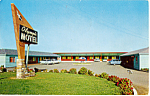Click here to enlarge image and see more about item p24335: Olympic Motel, Eureka California, Cars of 50s
