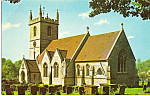 Click here to enlarge image and see more about item p24346: The Parish Church, Bladon Oxfordshire, England