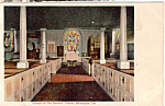 Old Swedes Church Interior Wilmington  Delaware p24347