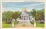 State Capitol Montpelier Vermont p24433