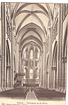 Cathedrale de St Pierre Interior Postcard p24462