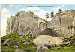 Click here to enlarge image and see more about item p24482: Indian Caves, Billings Montana