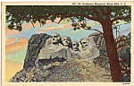 Click here to enlarge image and see more about item p24489: Mt Rushmore National Memorial SD p24489