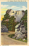 Click here to enlarge image and see more about item p24501: Mt Rushmore National Memorial