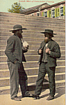 Two Amish Men Postcard p24521