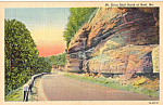 Click here to enlarge image and see more about item p24531: Mt Shira Bluff Noel Missouri Postcard p24531