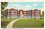 Click here to enlarge image and see more about item p24534: Christian College New Dormitory, Columbia