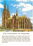 Colgne Germany Cathedral Postcard