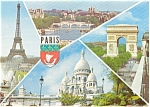 Click here to enlarge image and see more about item p2455: Paris France Postcard