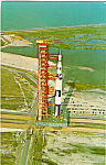 Click here to enlarge image and see more about item p24562: Apollo Saturn V, Kennedy Space Center