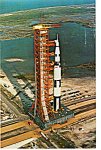 Click here to enlarge image and see more about item p24564: Apollo Saturn V, Kennedy Space Center p24564