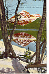 Click here to enlarge image and see more about item p24566: Reflections in Lake McDonald