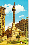 Click here to enlarge image and see more about item p24571: Soldiers and Sailors Monument Cleveland OH p24571
