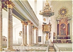 Click here to enlarge image and see more about item p2458: Kolmar Sweden Interior of Domkyrkan Postcard p2458