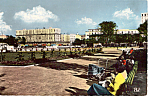 Click here to enlarge image and see more about item p24612: Hotels de Ville et la Jardin, Le Harve, France