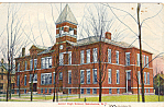 Click here to enlarge image and see more about item p24627: Juniior High School Salamanca New York p24627