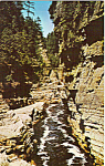 Ausable Chasm New York Postcard p24641