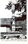 Click here to enlarge image and see more about item p24646: Totem Pole at Benson Wild Animal Farm