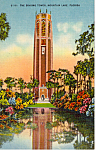 Click here to enlarge image and see more about item p24674: The Singing Tower,Mountain Lake, Florida