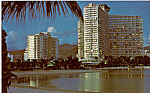 The Ilikai Waikiki Hawaii Postcard p24744