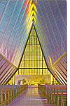 Click here to enlarge image and see more about item p24747: Interior Cadet Chapel  US Air Force Academy p24747