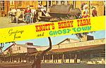 Click here to enlarge image and see more about item p24751: Old Betsy,Knotts Berry Farm Postcard p24751