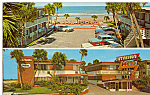Click here to enlarge image and see more about item p24775: Catalina Beach Motel,Daytona Beach,Vintage Cars