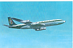 Click here to enlarge image and see more about item p24784: Olympic Airways Boeing 707-320 Super Fan Jet