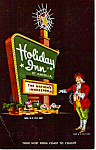 Click here to enlarge image and see more about item p24798: Holday Inn Card, Taylor Township, Michigan