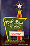 Holday Inn Card, Bedford, Pennsylvania
