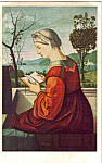Click here to enlarge image and see more about item p24809: A Lady Reading, Carpaccio