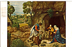The Adoration of the Shepherds Giorgione Postcard  p24859