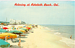 Click here to enlarge image and see more about item p24865: Beach Scene, Rehoboth Beach,Delaware