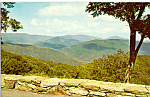 Click here to enlarge image and see more about item p24877: Buck Hollow Overlook, Shenandoah National Park
