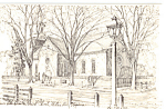 Click here to enlarge image and see more about item p24885: Bruton Parish Church Williamsburg  Virginia p24885