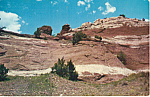 Click here to enlarge image and see more about item p24890: Indian Look Out Point, etagai Valley New Mexico p24890