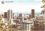 Click here to enlarge image and see more about item p2491: Montreal Panorama Postcard