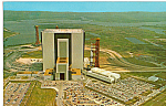 Vertical Assembly Building and Apollo Saturn Vehicle